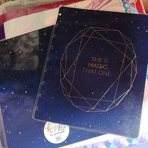 She's The Magic One Planner Front/Back